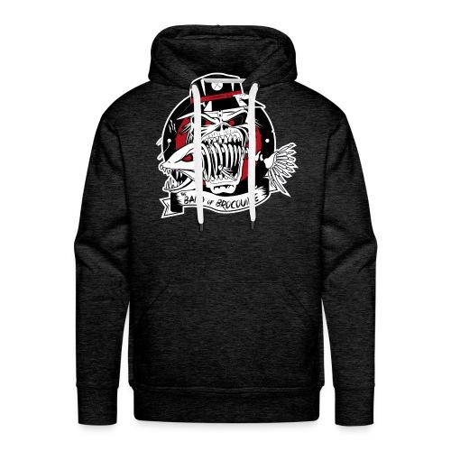 logo bandofbrocouille-01 - Sweat-shirt à capuche Premium pour hommes