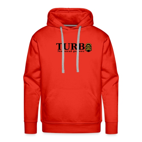 TURBO natural power - Miesten premium-huppari
