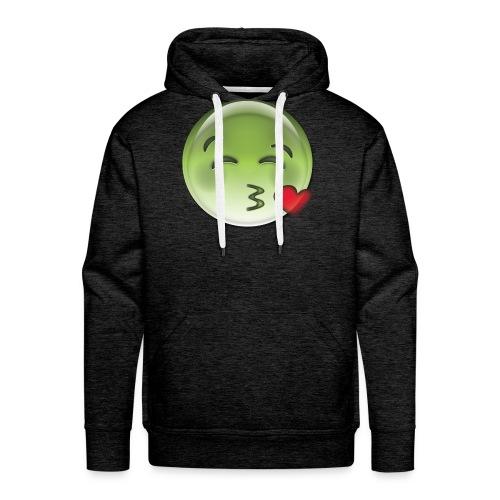 high emoji - Herre Premium hættetrøje