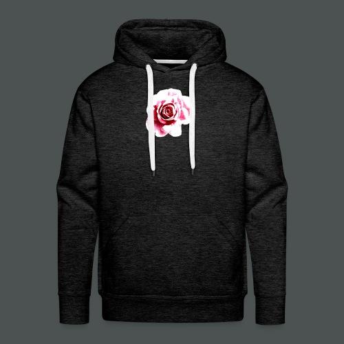 Sketched Rose - Men's Premium Hoodie