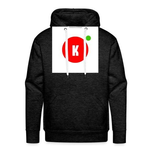 New logo - Sweat-shirt à capuche Premium pour hommes