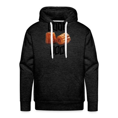 gave bon - Sweat-shirt à capuche Premium pour hommes