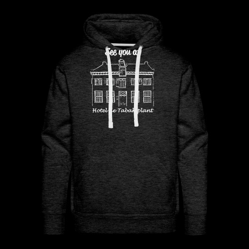 See you at Hotel de Tabaksplant WHITE - Men's Premium Hoodie