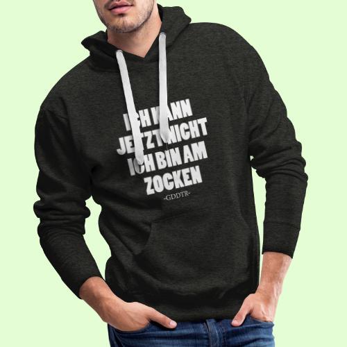 Kann jetzt nicht weiss - Männer Premium Hoodie