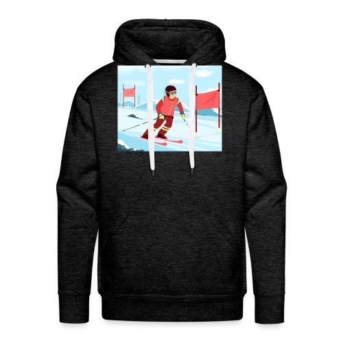 Professional Skier - Männer Premium Hoodie