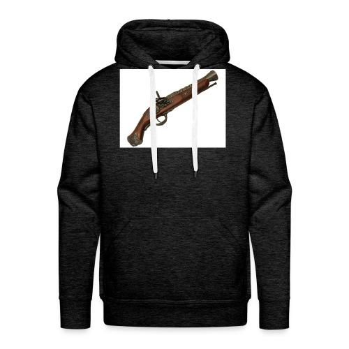 Pistola - Sudadera con capucha premium para hombre