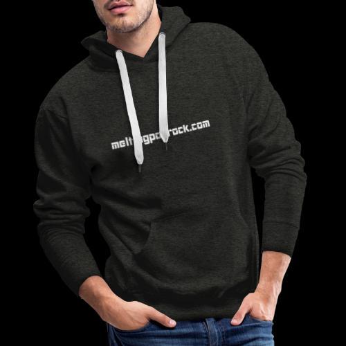 Melting Pop Rock 1 - Sweat-shirt à capuche Premium pour hommes