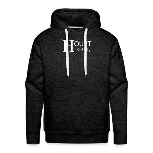 houptstadt logo ps weiss - Männer Premium Hoodie