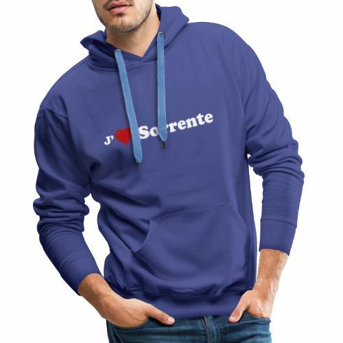 J'aime Sorrente - Sweat-shirt à capuche Premium pour hommes