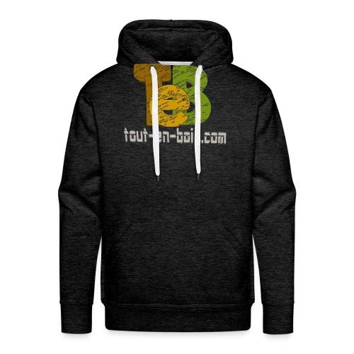 logo TEB classique - Sweat-shirt à capuche Premium pour hommes