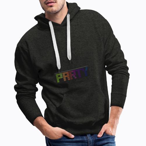 party colors - Men's Premium Hoodie