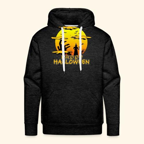 Halloween Hexe mit riesiger Hand - Happy Halloween - Männer Premium Hoodie