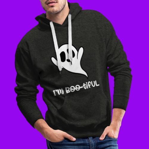I'm boo-tiful (gefüllte Buchstaben) - Männer Premium Hoodie