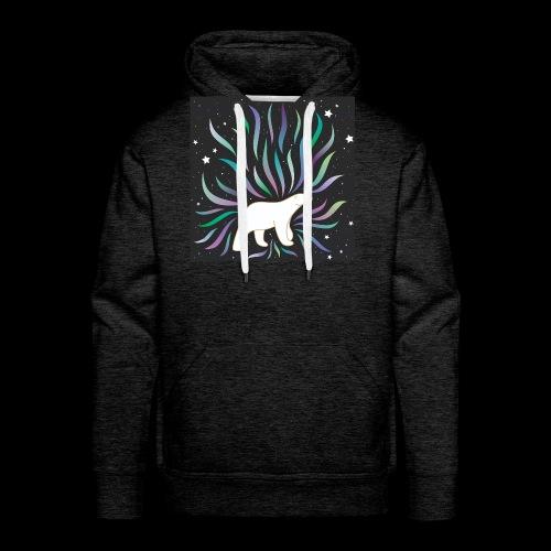 polar ours - Sweat-shirt à capuche Premium pour hommes
