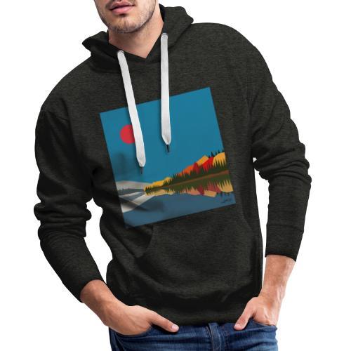 quebec - Sweat-shirt à capuche Premium pour hommes