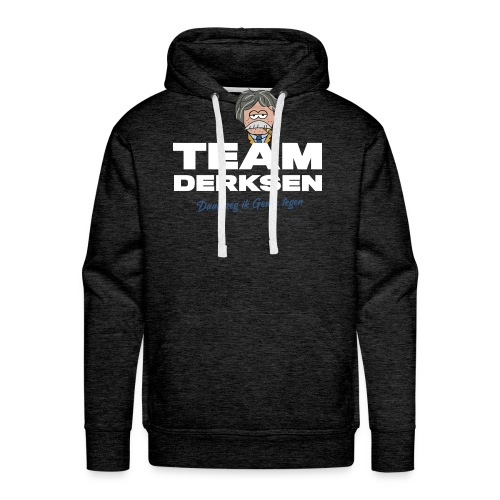 Team Derksen - Voetbal International shirt - Mannen Premium hoodie