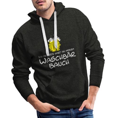Waschbaerbauch, - Männer Premium Hoodie