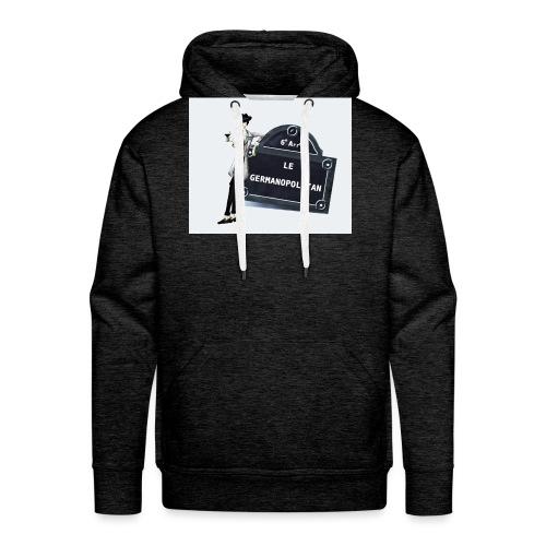 Sac Le Germanopolitan - Sweat-shirt à capuche Premium pour hommes