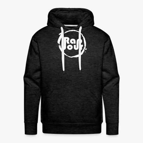 Logo 1rap1jour - Sweat-shirt à capuche Premium pour hommes
