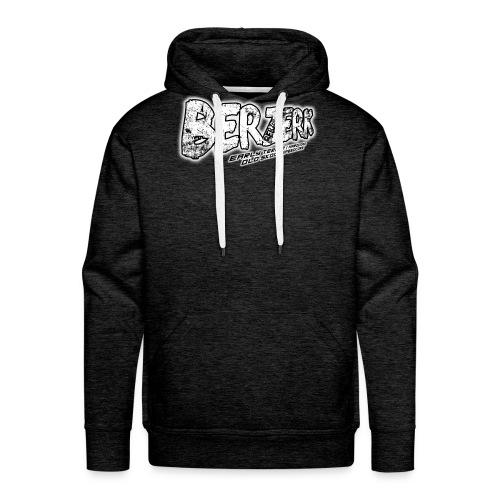 front - Mannen Premium hoodie