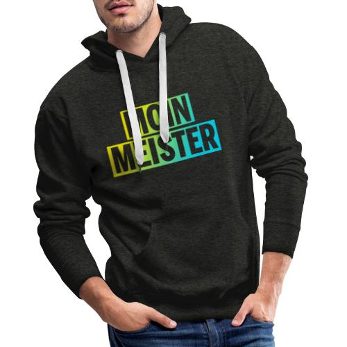 Moin Meister im Game Computerspiel Design - Männer Premium Hoodie