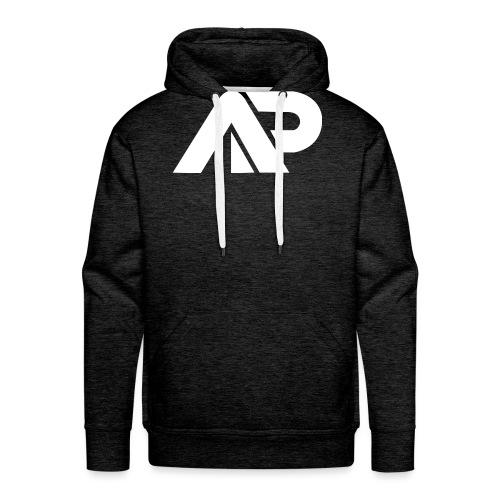 APGP Hvid - Herre Premium hættetrøje
