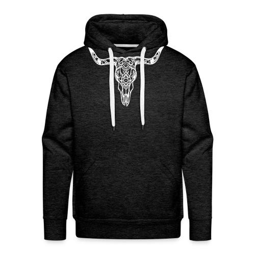 LaBestiaWhiteLogo png - Mannen Premium hoodie