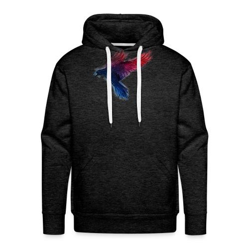 Watercolor Raven - Männer Premium Hoodie