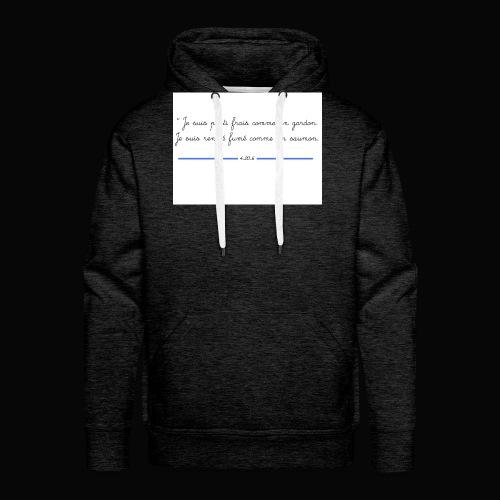 motif 7 jpg - Sweat-shirt à capuche Premium pour hommes