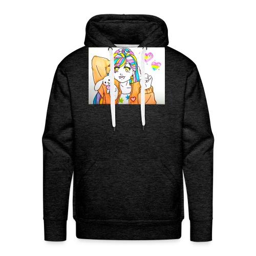 Kawaii 1 - Sweat-shirt à capuche Premium pour hommes