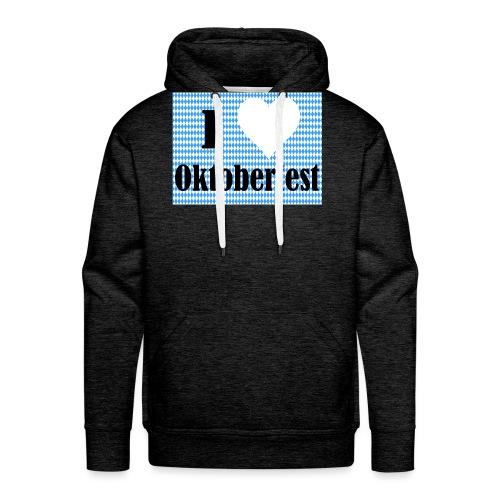 I Love Oktoberfest - Männer Premium Hoodie