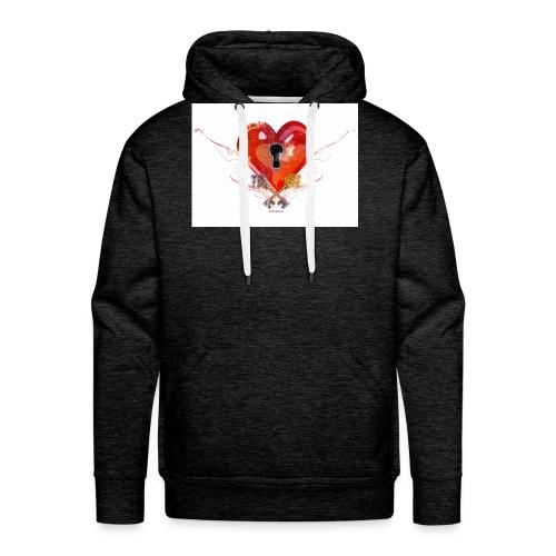 stvalentinmotif2 - Sweat-shirt à capuche Premium pour hommes