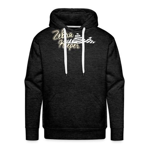 Zebra Keeper - Sweat-shirt à capuche Premium pour hommes