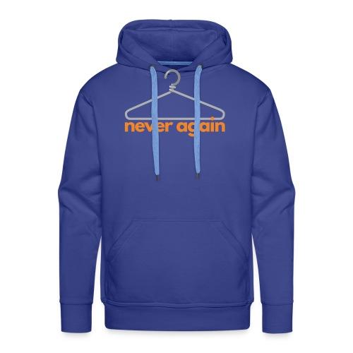 NeverAgain 1 - Männer Premium Hoodie