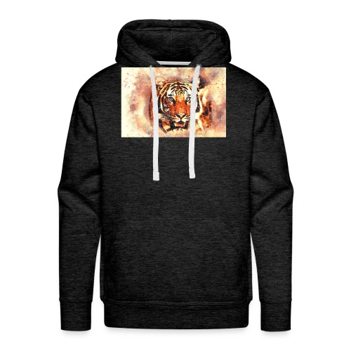 Tiger NO 1 - Männer Premium Hoodie