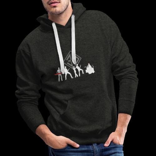 3D 2020 - Sweat-shirt à capuche Premium pour hommes