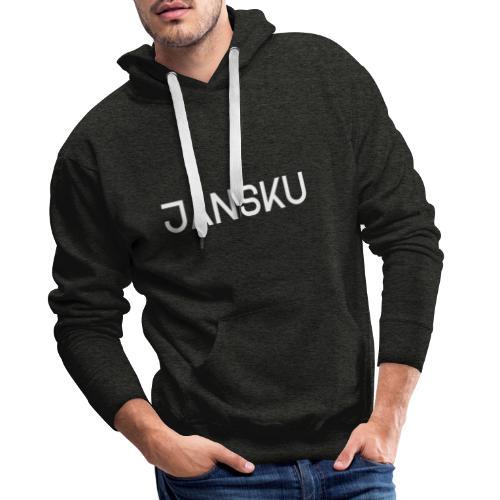 Jansku-logo V3 - Miesten premium-huppari