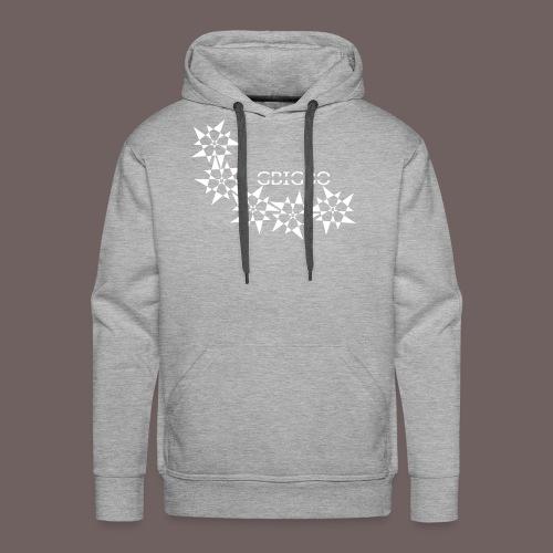 GBIGBO zjebeezjeboo - Rock - Pointy Stars - Sweat-shirt à capuche Premium pour hommes