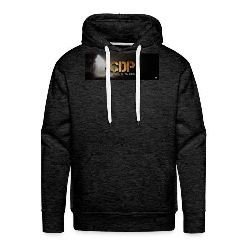 logo cdp - Sweat-shirt à capuche Premium pour hommes