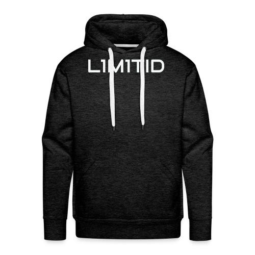 L1M1TID Official Tee - Premium hettegenser for menn