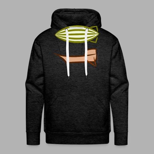 Airship - Sweat-shirt à capuche Premium pour hommes
