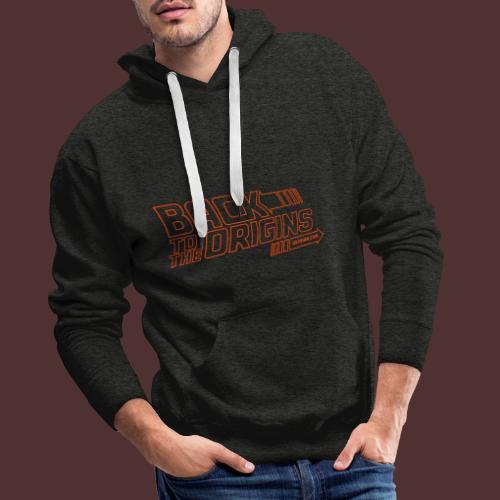 Back to the Origins by Deïmian - Sweat-shirt à capuche Premium pour hommes
