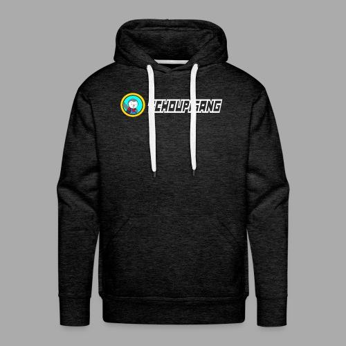 """Seconde collections """"BLANC"""" - Sweat-shirt à capuche Premium pour hommes"""