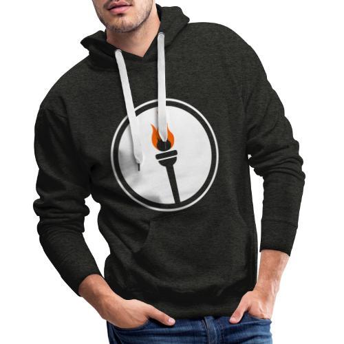 Une génération qui se lève - minimaliste - Sweat-shirt à capuche Premium pour hommes