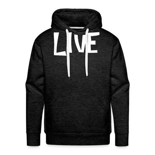 LIVE - Sweat-shirt à capuche Premium pour hommes