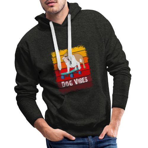 Dog vibes - Mannen Premium hoodie