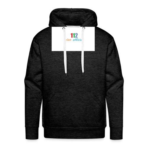 112 oFfIcIaL MERCH - Herre Premium hættetrøje