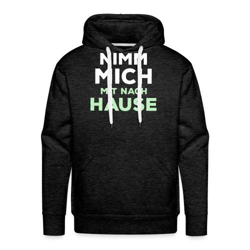 MitNachHause png - Männer Premium Hoodie