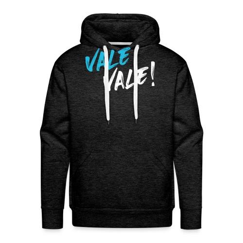 Logo VV color white - Felpa con cappuccio premium da uomo