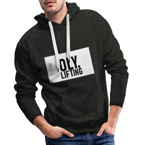 OlyLifting - WeserLifting - Männer Premium Hoodie